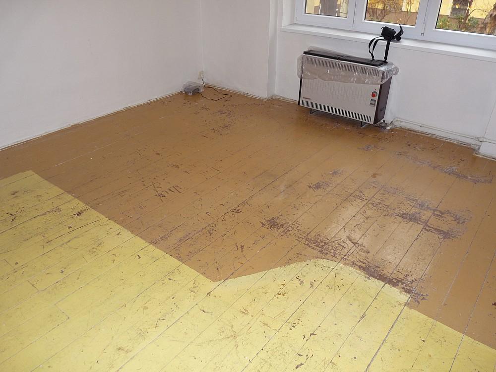 Renovace dřevěné podlahy návod