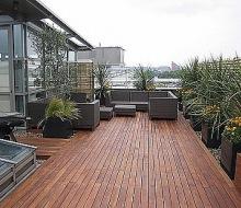 Renovace dřevěných teras