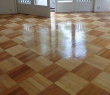 Údržba dřevěných podlah olejovaných 1