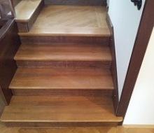 renovace dřevěných schodů 2