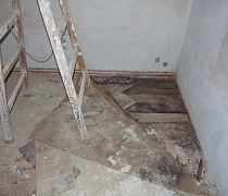 oprava podloží - vyrovnání podlahy