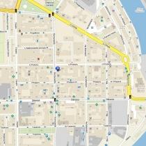 renovace podlah Praha 7 - mapa