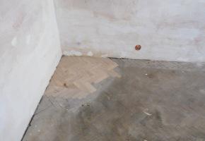 renovace podlahy - dokládka parket