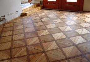 renovace podlahy vchod Lysolaje - hotovo