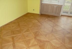 kompletní renovace podlahy - Senovážné nám. - po dokončení