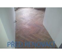 Renovace prkenné podlahy 1