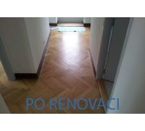 Renovace prkenné podlahy 2
