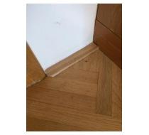 Lepení podlahových lišt 1