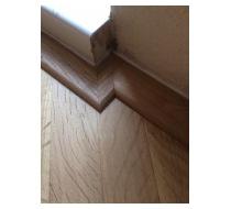 Lepení podlahových lišt 2