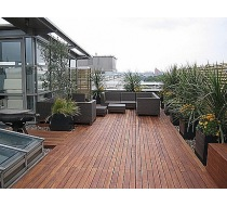 Olej na dřevěné terasy 1