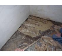 Renovace staré dřevěné podlahy 1